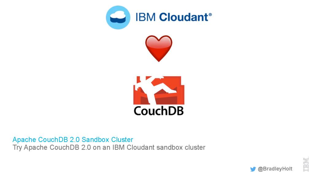 Apache CouchDB 2.0 Sandbox Cluster Try Apache C...