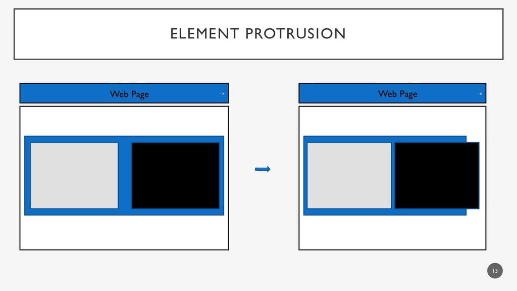 ELEMENT PROTRUSION 13 - x Web Page - x Web Page