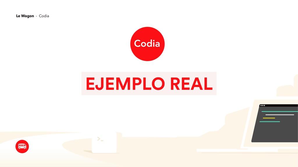 EJEMPLO REAL Le Wagon - Codia