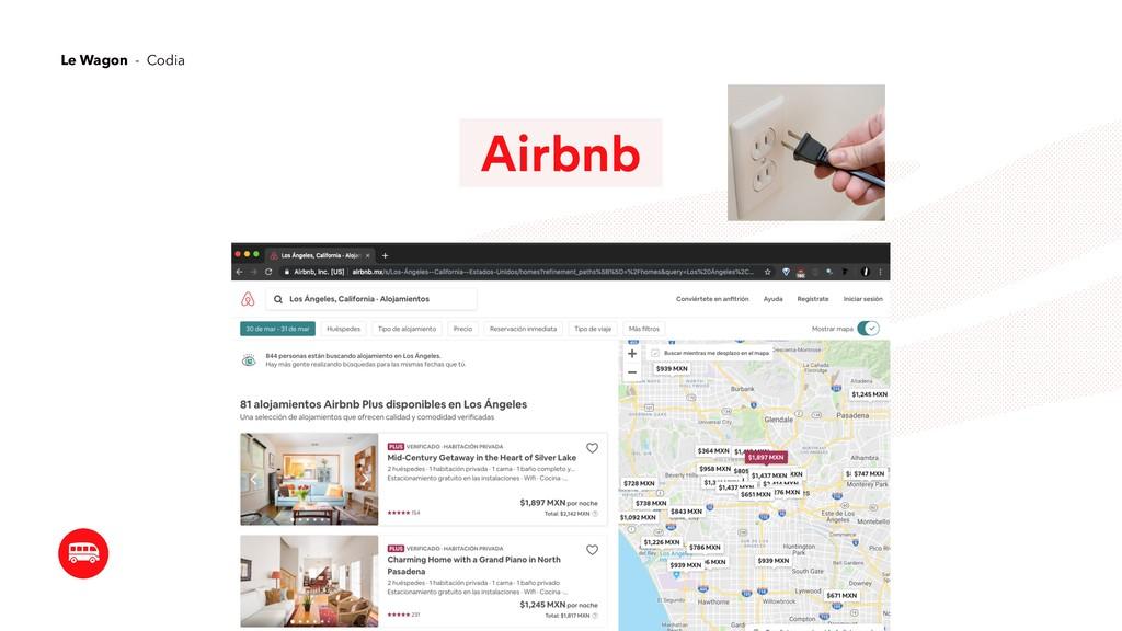 Airbnb Le Wagon - Codia