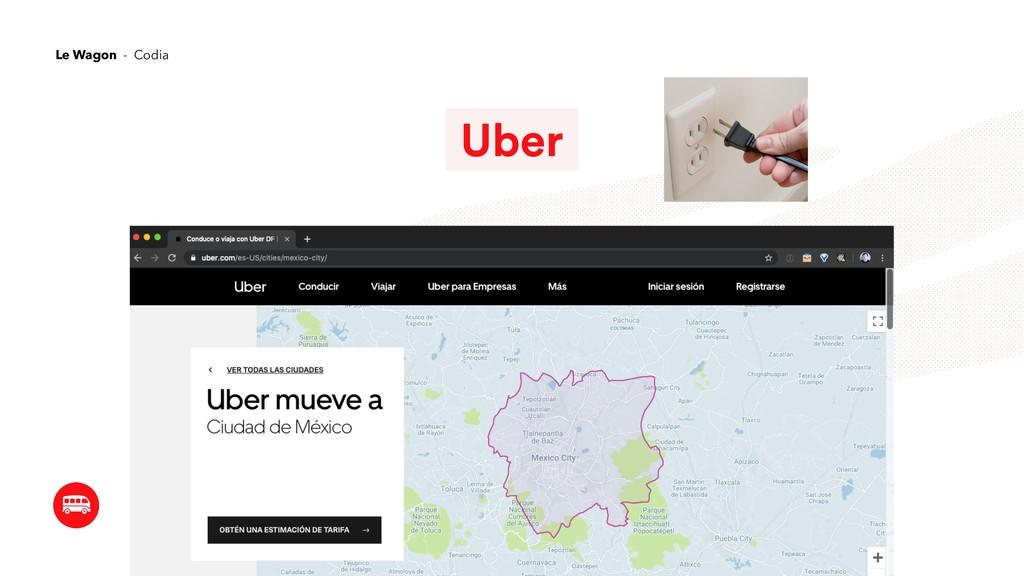 Uber Le Wagon - Codia