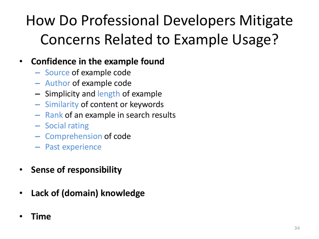 How Do Professional Developers Mitigate Concern...