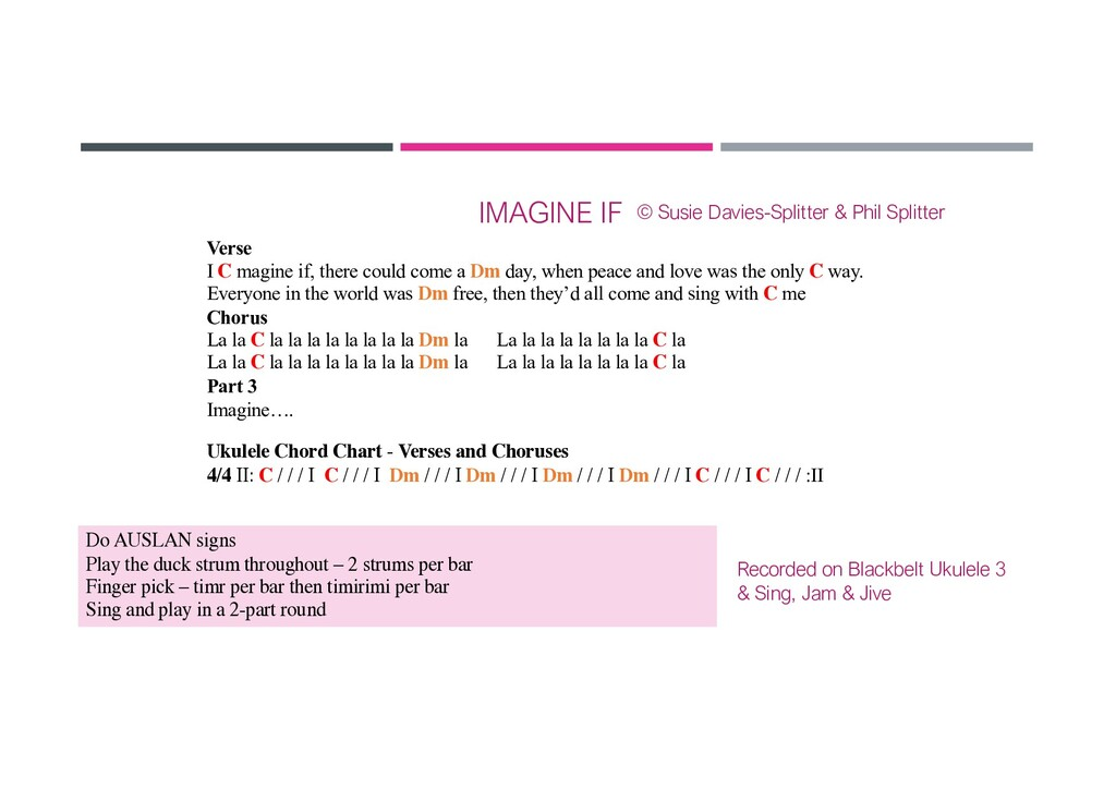 IMAGINE IF Verse I C magine if, there could com...