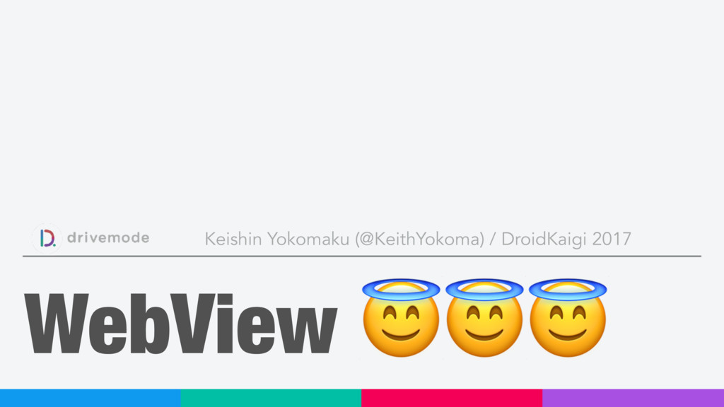WebView  Keishin Yokomaku (@KeithYokoma) / Droi...