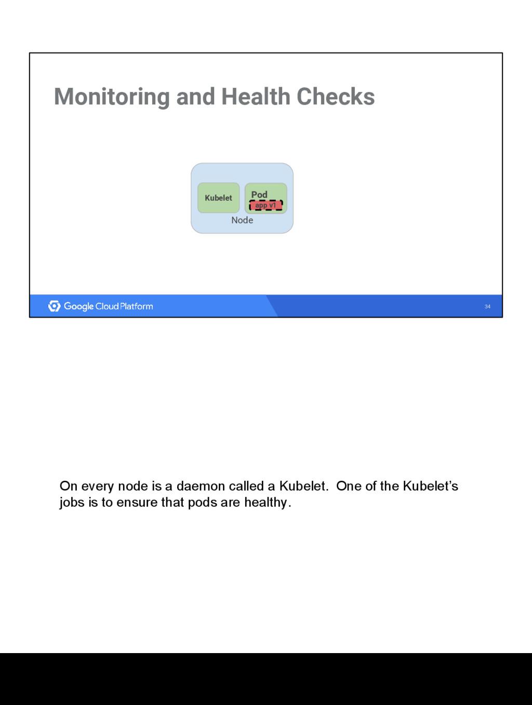 34 Monitoring and Health Checks Node Kubelet Po...