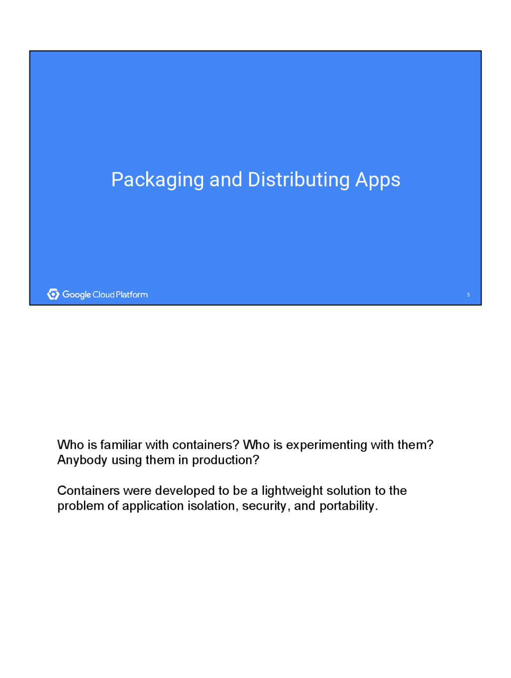 5 5 Packaging and Distributing Apps Who is fami...