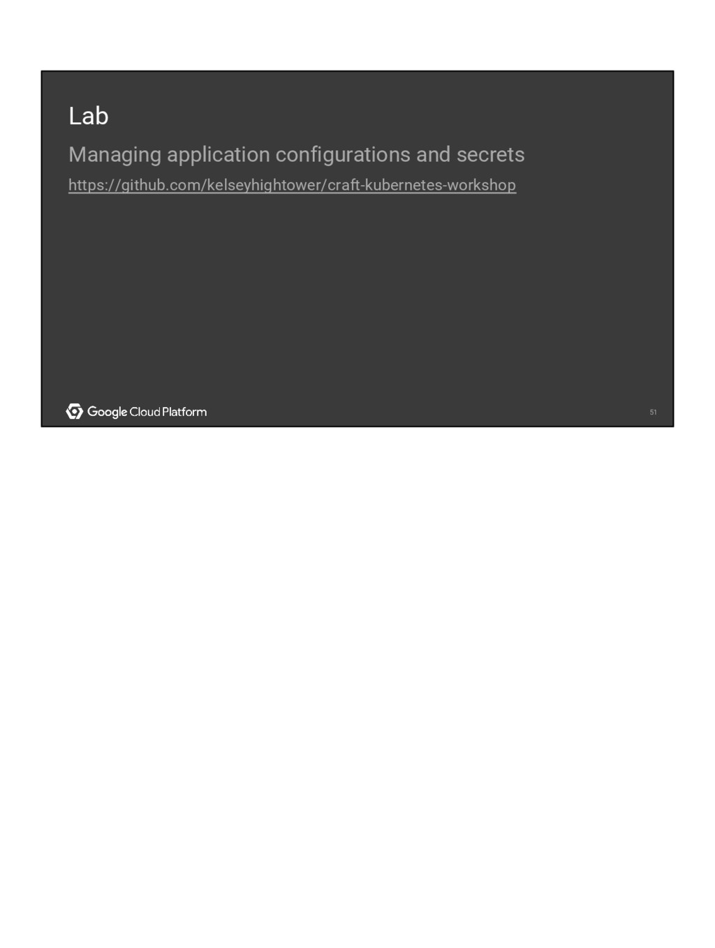 51 51 Lab Managing application configurations a...