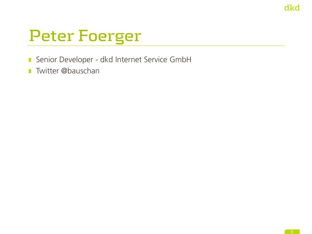 Senior Developer - dkd Internet Service GmbH Tw...