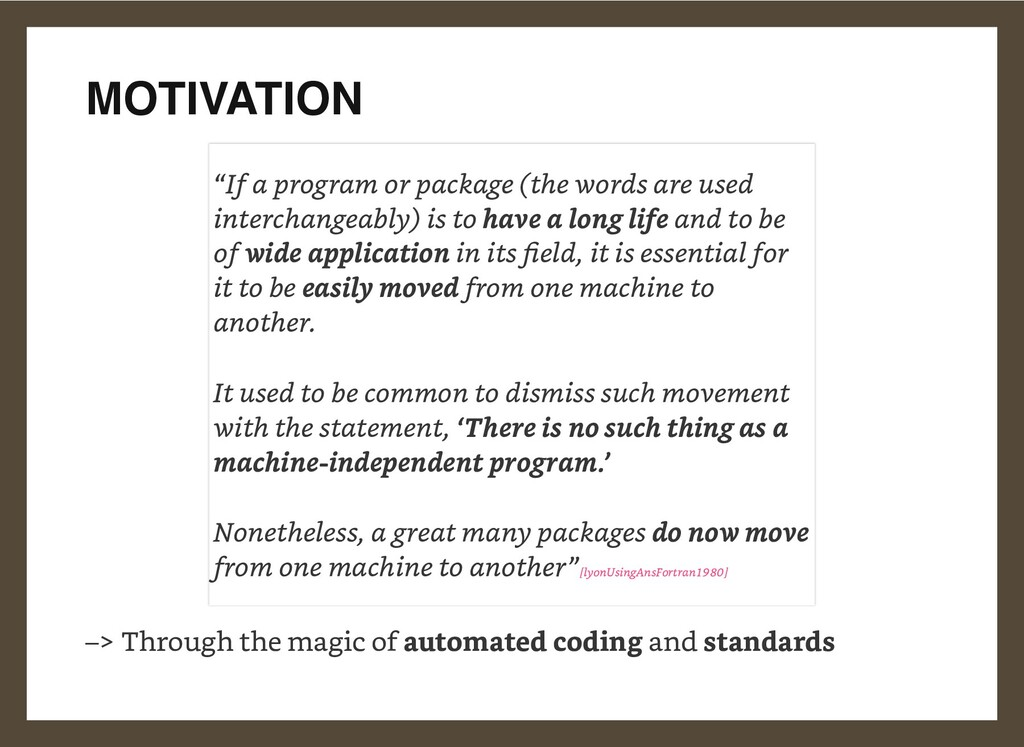 MOTIVATION –> Through the magic of automated co...