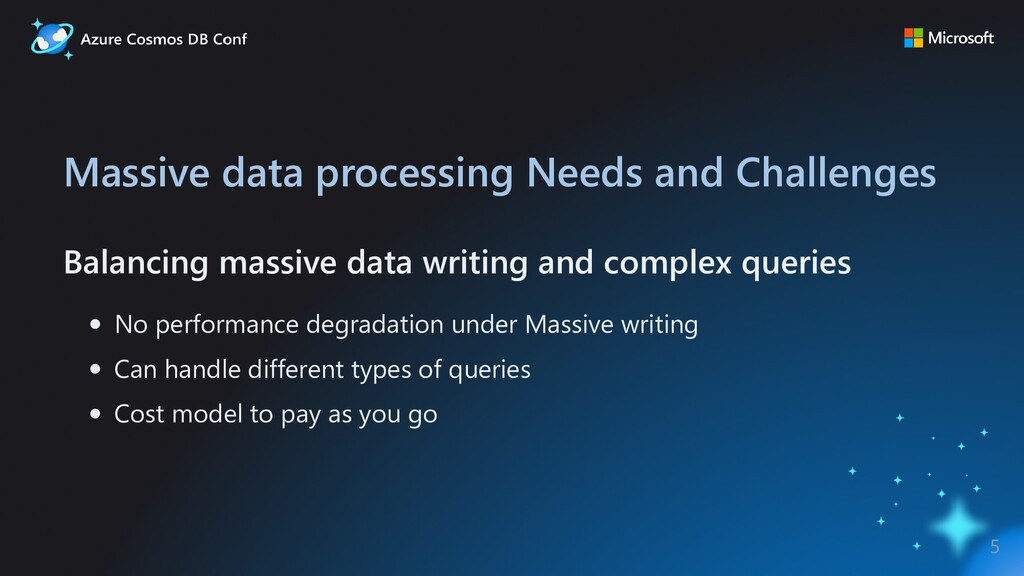 Massive data processing Needs and Challenges Ba...
