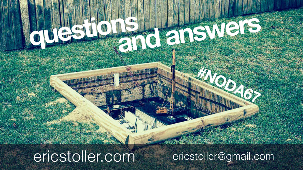 questions and answers ericstoller@gmail.com eri...