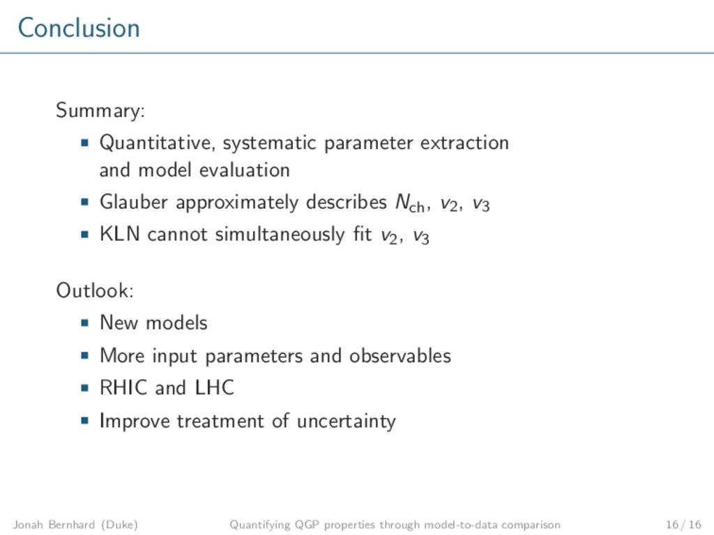 Conclusion Summary: Quantitative, systematic pa...