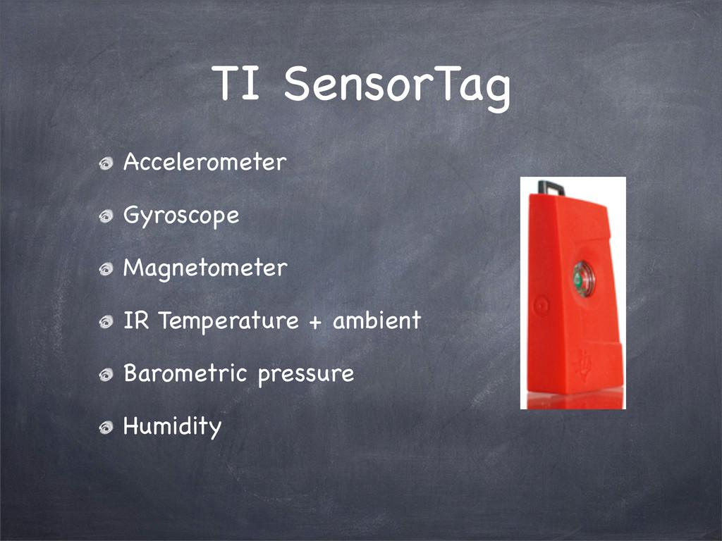 TI SensorTag Accelerometer Gyroscope Magnetomet...