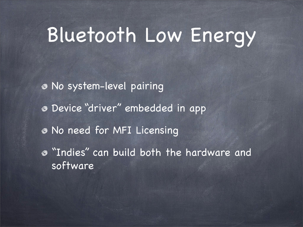 Bluetooth Low Energy No system-level pairing De...