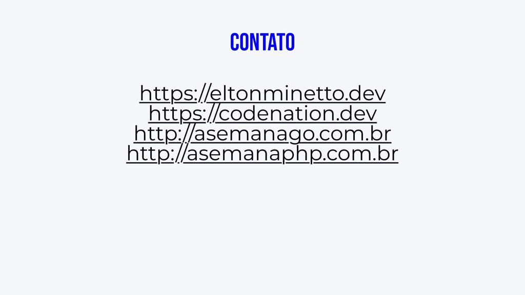 Contato https://eltonminetto.dev https://codena...