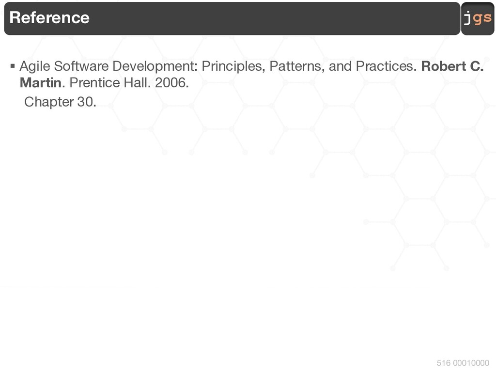 jgs 516 00010000 Reference § Agile Software Dev...