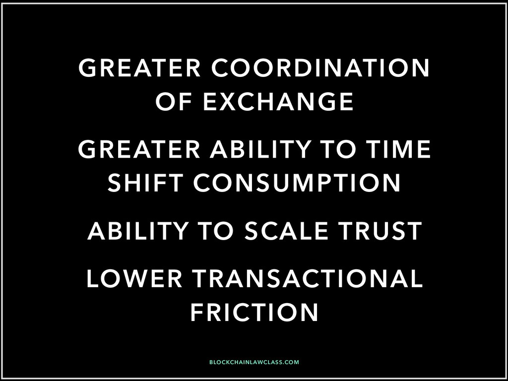 GREATER COORDINATION OF EXCHANGE GREATER ABILIT...