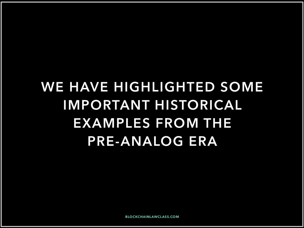 WE HAVE HIGHLIGHTED SOME IMPORTANT HISTORICAL E...