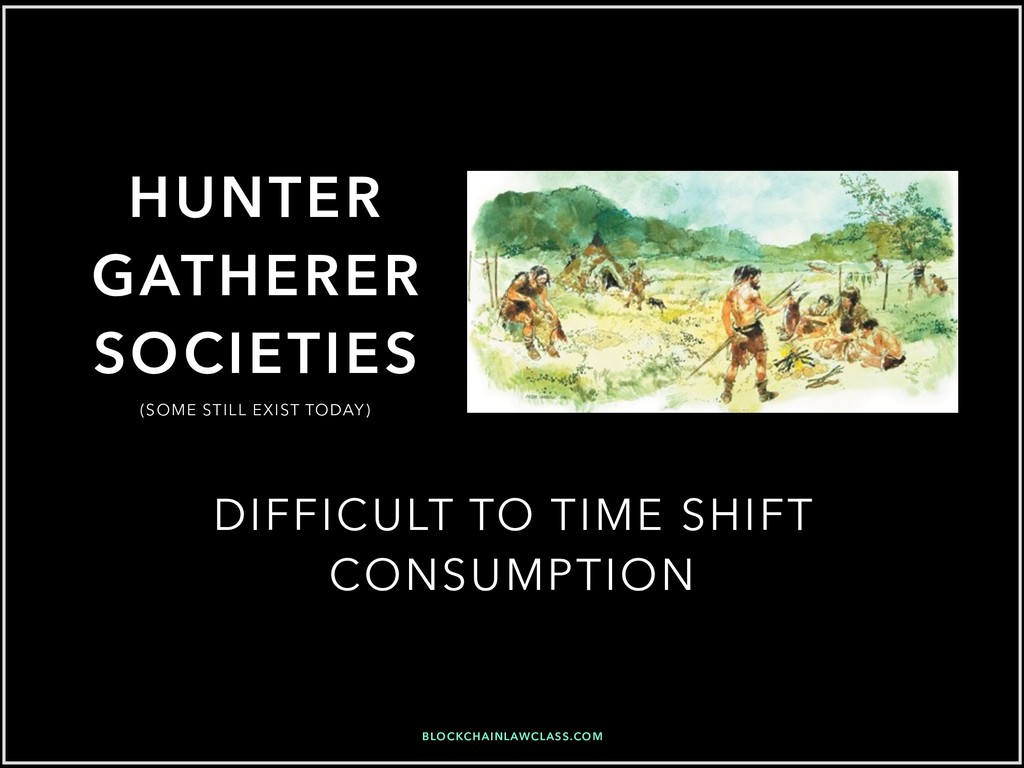 HUNTER GATHERER SOCIETIES DIFFICULT TO TIME SHI...