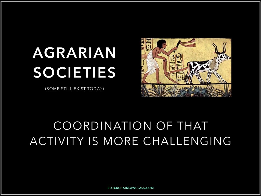 AGRARIAN SOCIETIES COORDINATION OF THAT ACTIVIT...