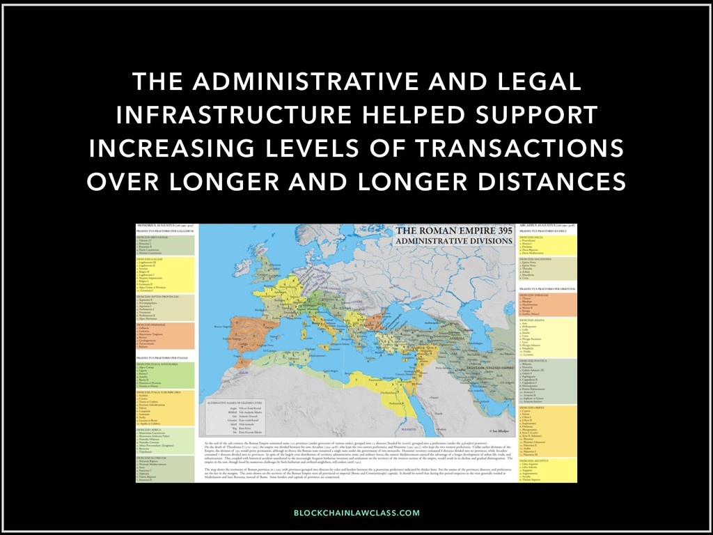 THE ADMINISTRATIVE AND LEGAL INFRASTRUCTURE HEL...