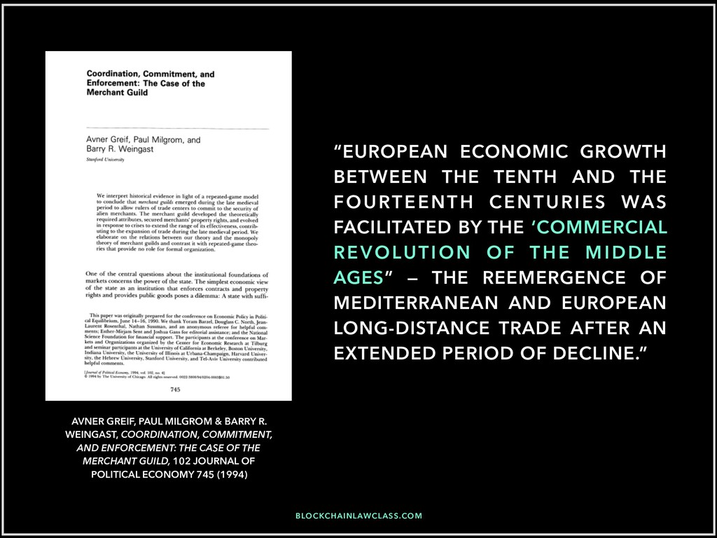 """EUROPEAN ECONOMIC GROWTH BETWEEN THE TENTH AND..."