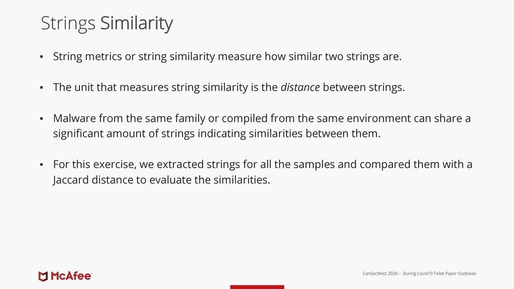 ▪ String metrics or string similarity measure h...