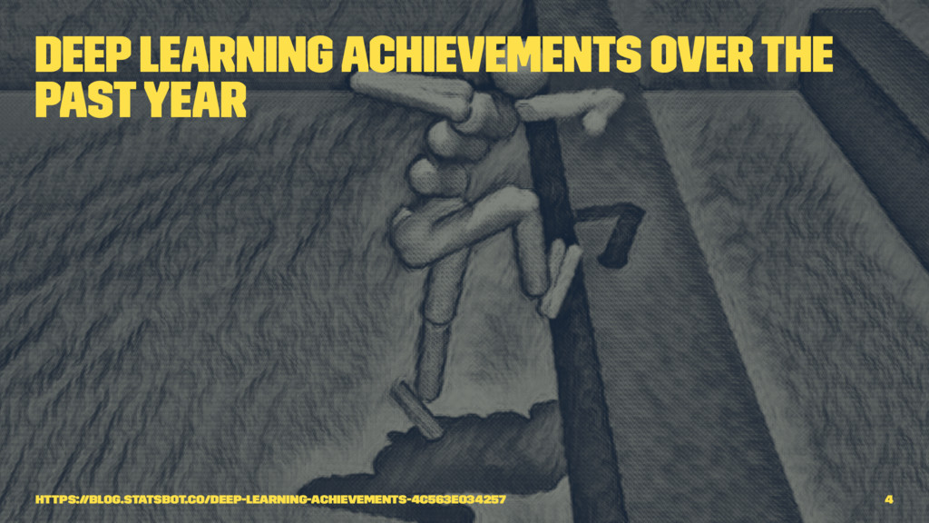 Deep Learning Achievements Over The Past Year h...
