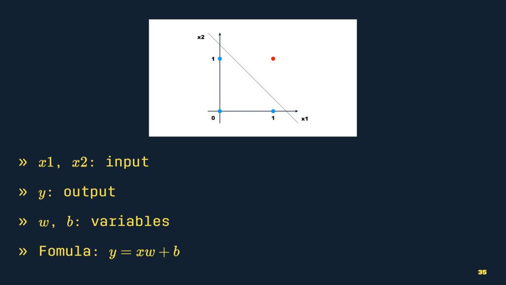 » , : input » : output » , : variables » Fomula...