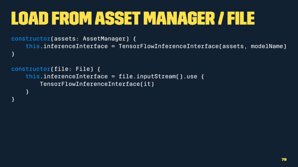Load from Asset Manager / File constructor(asse...