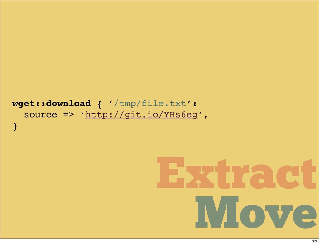 Move Move Extract Move Move Move Extract wget::...