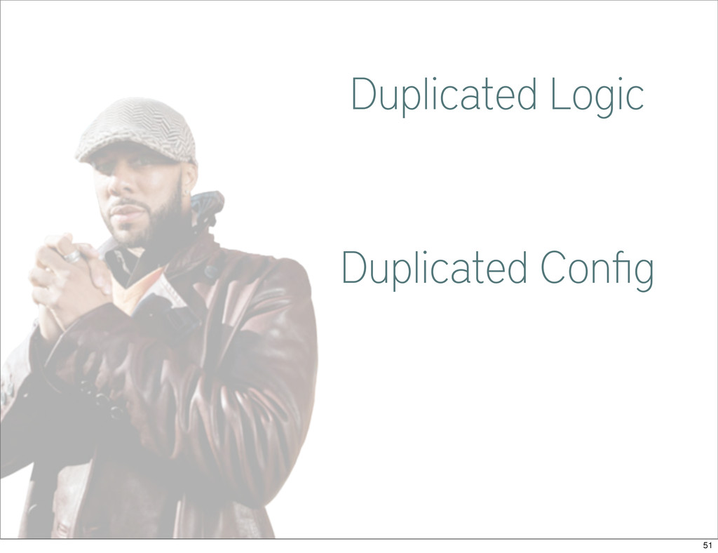 Common Duplicated Logic Duplicated Config 51