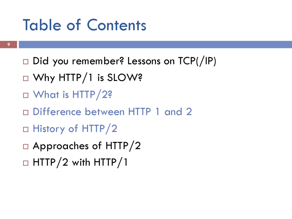 Table of Contents 9 ¨ Did you remember? Lesson...