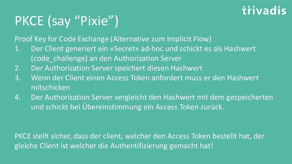 """PKCE (say """"Pixie"""") Proof Key for Code Exchange ..."""