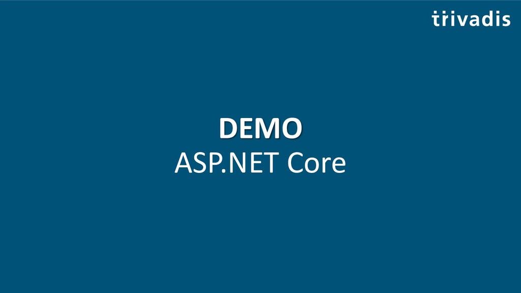 DEMO ASP.NET Core
