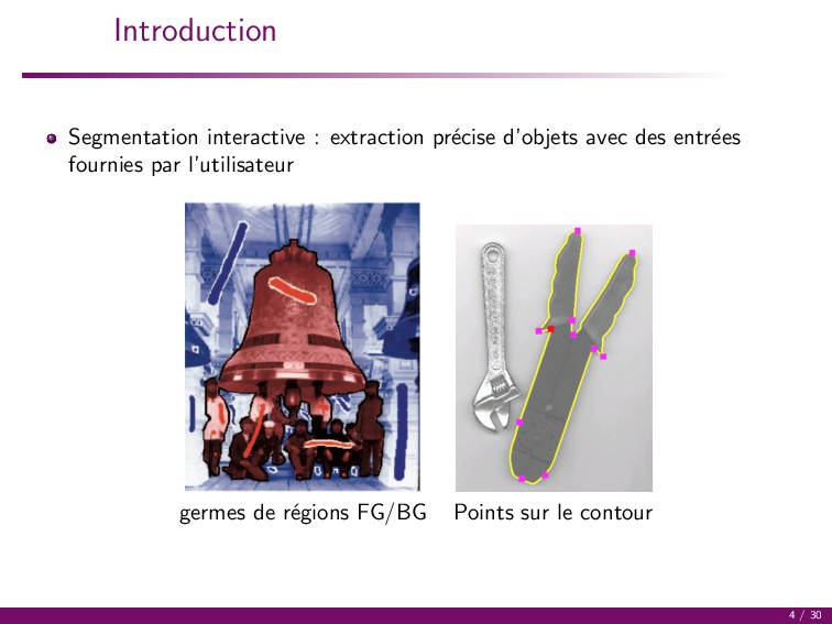 Introduction Segmentation interactive : extract...