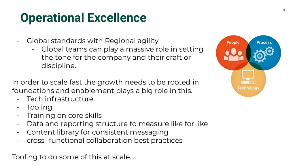 8 Operational Excellence - Global standards wit...