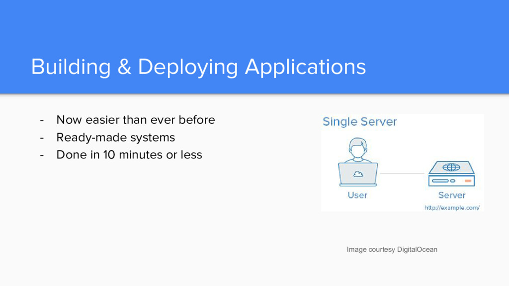 Building & Deploying Applications - Now easier ...