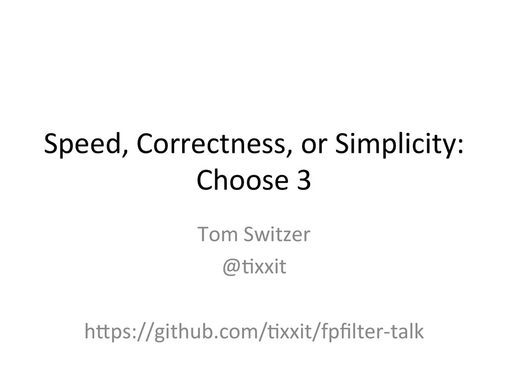 Speed,	