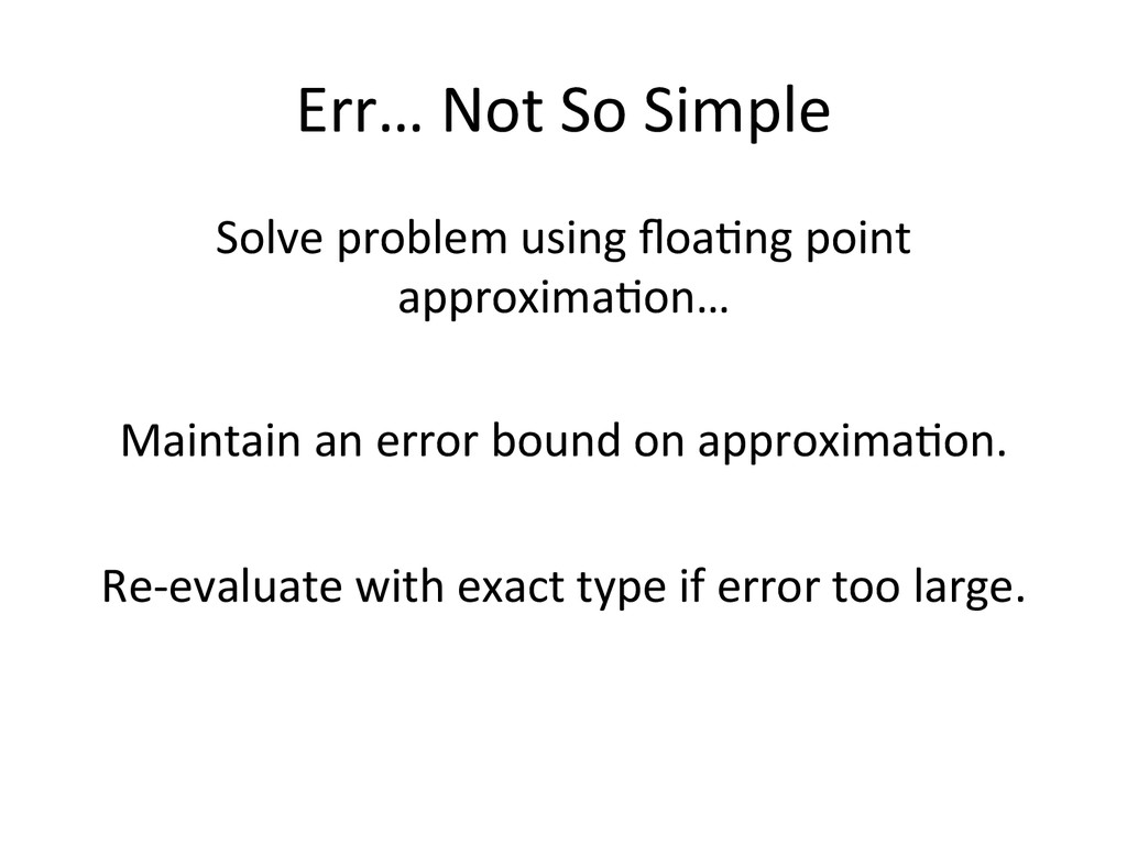 Err…	