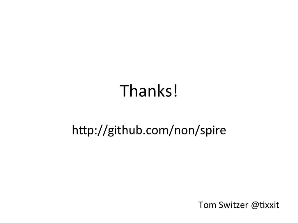 Thanks!  h;p://github.com/non/spire   ...