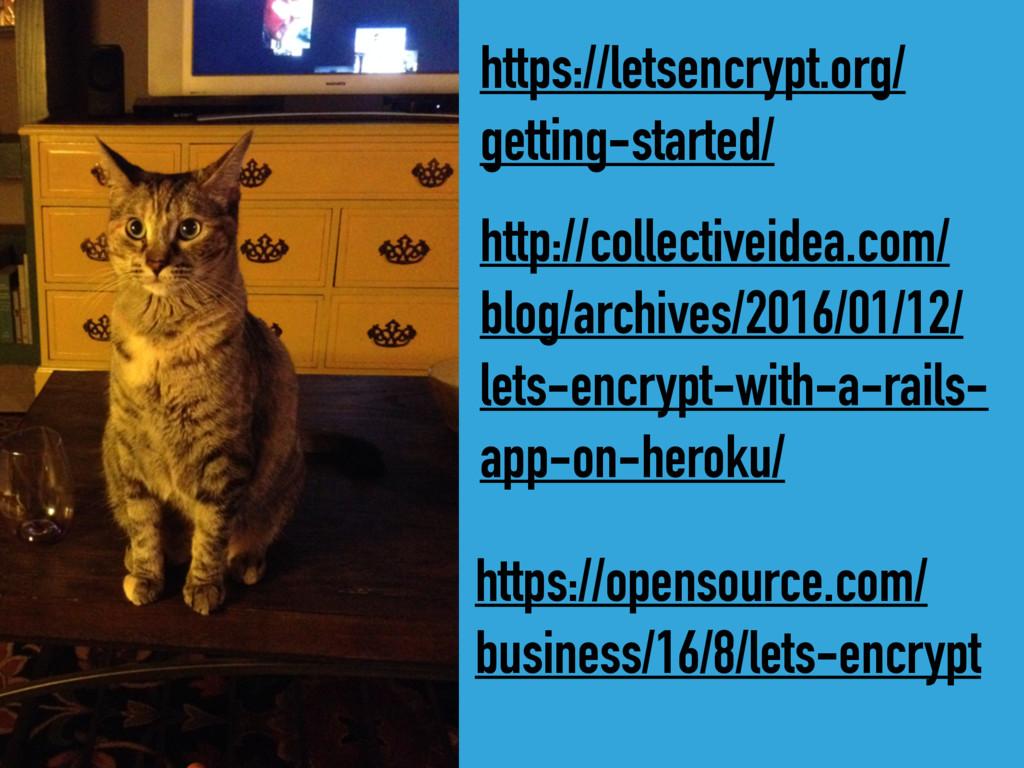 https://letsencrypt.org/ getting-started/ http:...