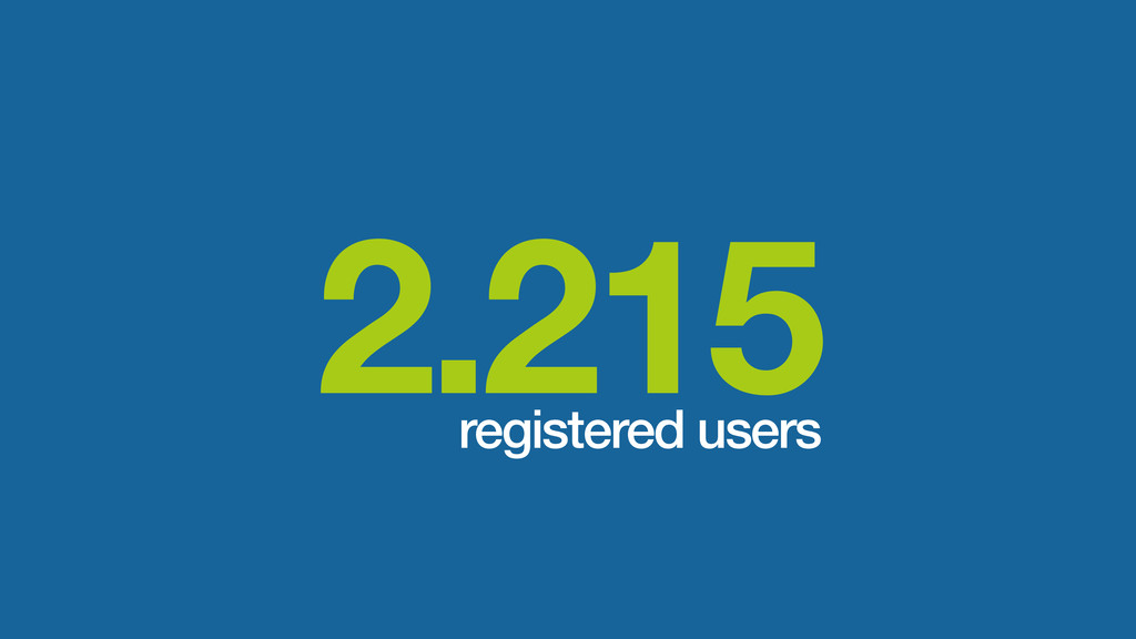 2.215 registered users