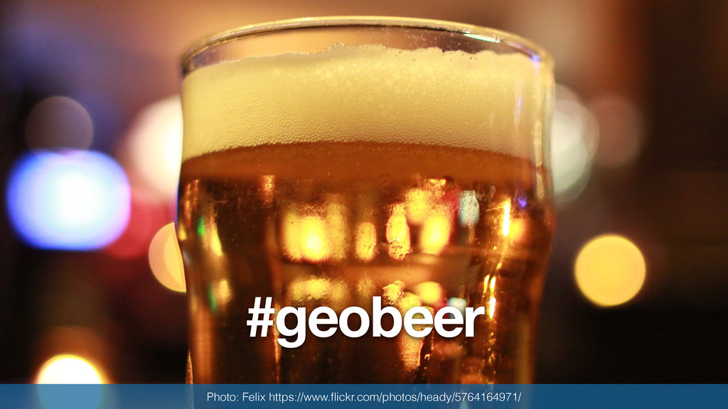 #geobeer Photo: Felix https://www.flickr.com/pho...