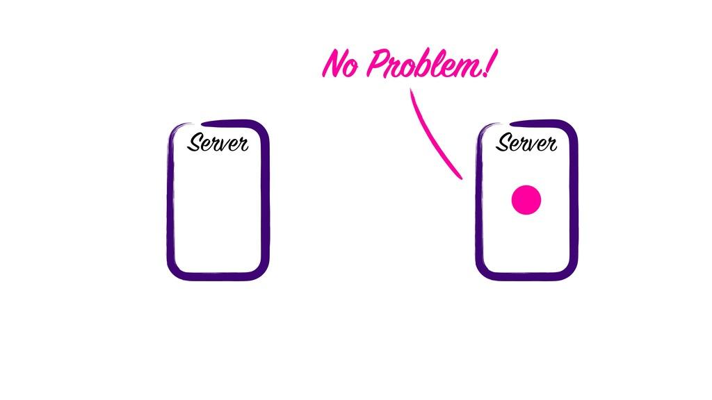Server Server No Problem!