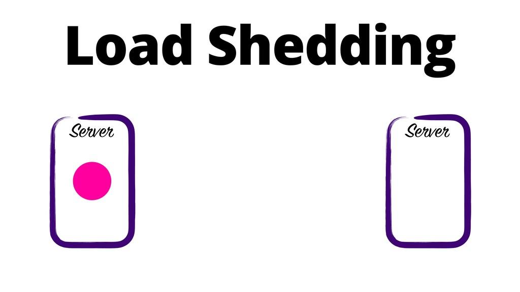 Load Shedding Server Server