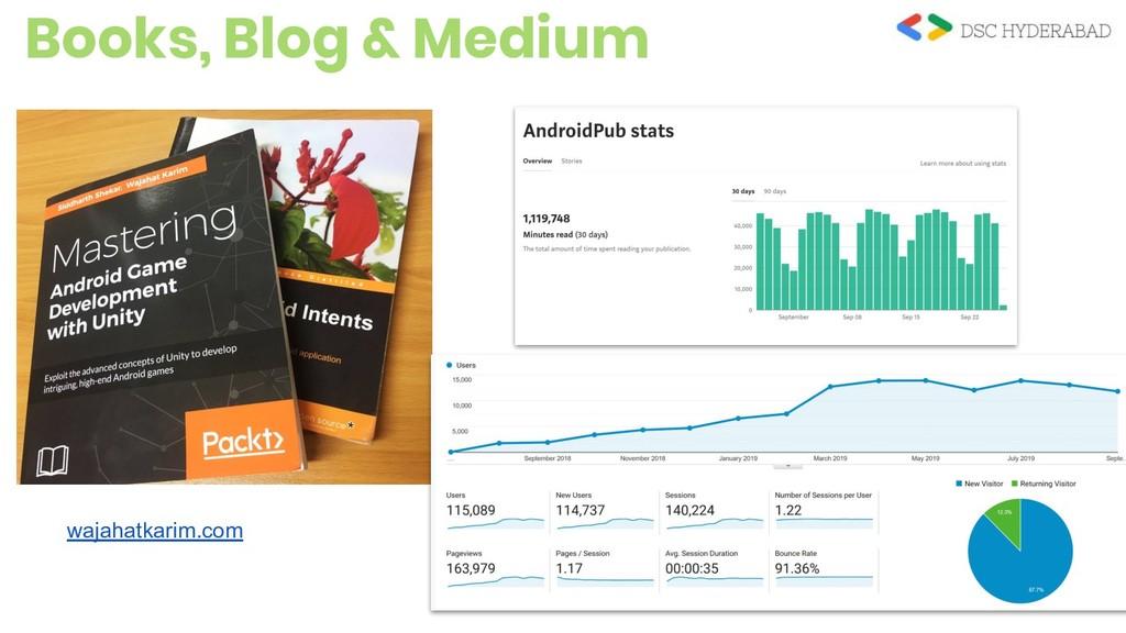 Books, Blog & Medium android.jlelse.eu/ wajahat...