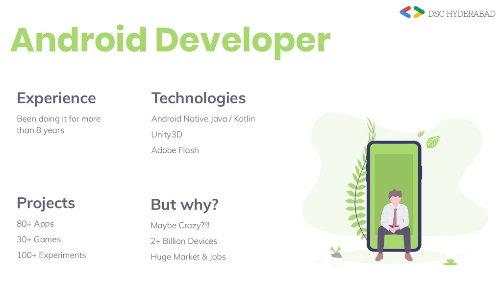 Android Developer Technologies Android Native J...