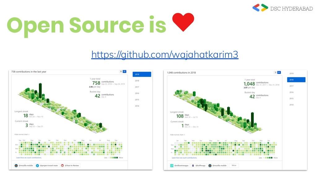 Open Source is https://github.com/wajahatkarim3