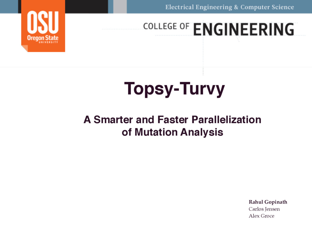 Topsy-Turvy A Smarter and Faster Parallelizatio...